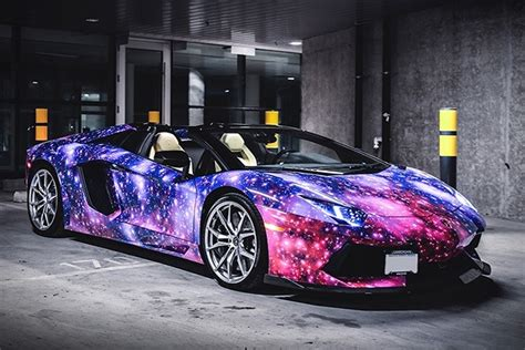 colorful car wallpaper art design inspiration cars galaxy stars italy colorful