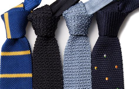 The Knitted Tie Of Many