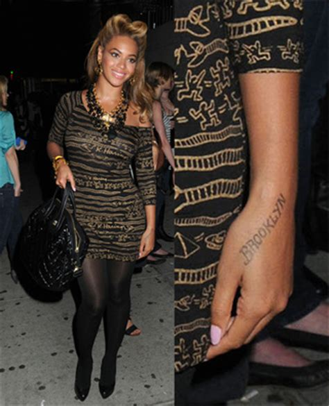 beyonce hip tattoo beyonc 233 s possible bret quot amazing quot recovery