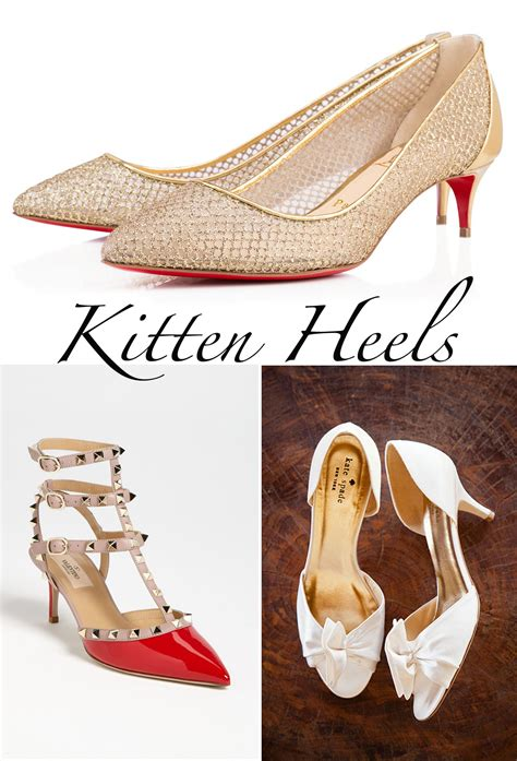 wedding kitten heels wedding shoes 101 everything you need to to shop for