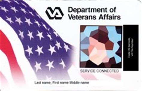 veterans administration business card template how to get a id card or veteran id card