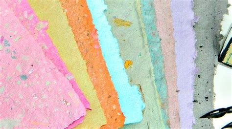 What Is Handmade Paper - how to beautiful handmade paper in custom colors make