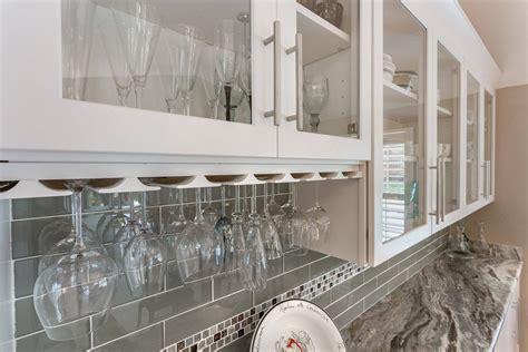 wine glass storage cabinet custom kitchen and bathroom cabinets in pensacola florida