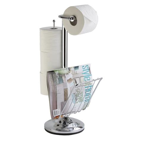 free standing toilet paper holder with storage free standing pedestal toilet paper holder with roll