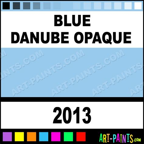 blue danube opaque delta acrylic paints 2013 blue danube opaque paint blue danube opaque