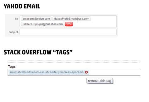 format email jquery adding semicolon automatically after email address on text