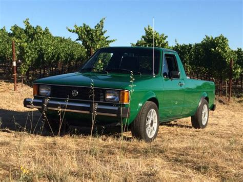volkswagen rabbit truck 1982 1982 vw rabbit tdi pickup buy classic volks