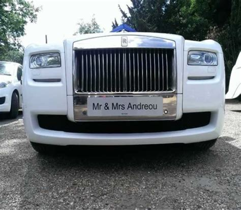 Wedding Car Number Plates by Wedding Car Hire Herts Limos