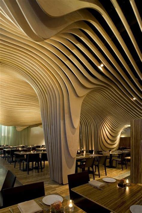 Architectural Ceiling Design Wave Ceiling Boston Architecture