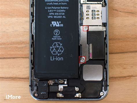 how to replace the battery in an iphone 5s imore