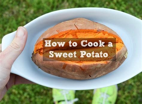 how to roast grill microwave slow cook a sweet potato recipes thefitfork com