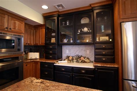 Finishing Kitchen Cabinets Kitchen Cabinets With A Distressed Finish Toms River Nj Patch