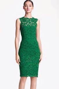 green lace dress dressed up