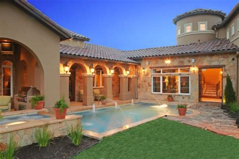 mediterranean house plans with pool 20 backyard pool design ideas for a hot summer