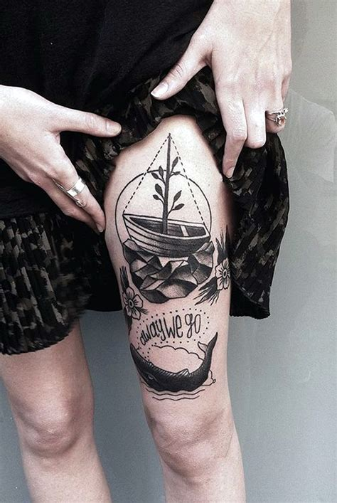 40 cute and meaningful boat tattoo designs bored art