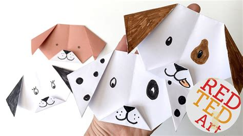 paper a puppy easy origami puppy emoji puppy paper craft