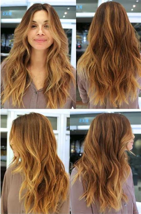 do layers look in thick slightly wavy hair 40 best long wavy haircuts long hairstyles 2017 long