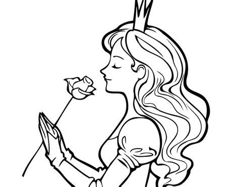 dibujos para pintar de princesas para imprimir imagui dibujo de princesa y rosa para colorear dibujos de
