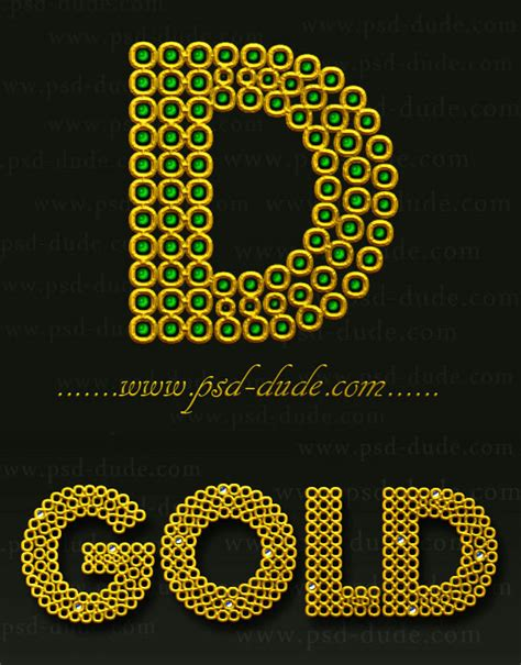 home design gold tutorial gold photoshop text effect photoshop tutorial psddude