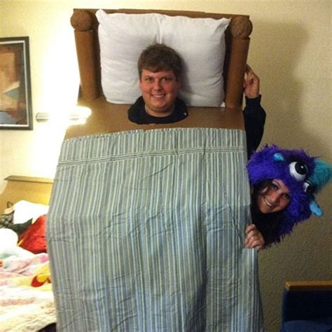 bed costume the best couples halloween costumes 36 pics