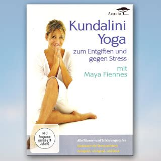 Dvd Kundalini To Detox And Destress by Fiennes Mat Sport Fatare