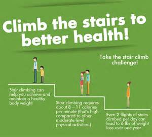 Take The Stairs Challenge by Shine Hhs Get Active