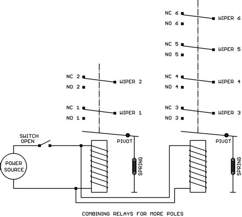 4pdt Relay Diagram