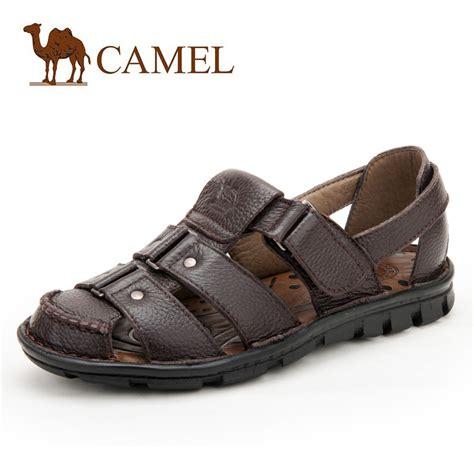 Sandal Camel baotou camel sandals sandals and s leather