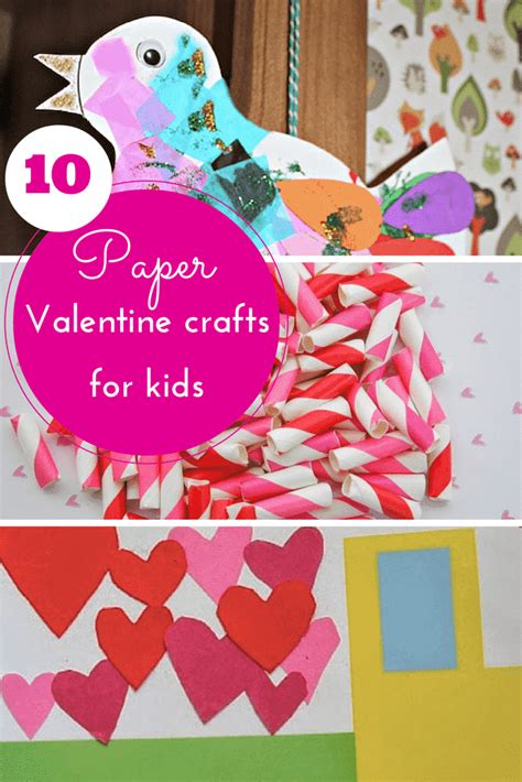Valentines Paper Crafts - 10 pretty paper crafts for