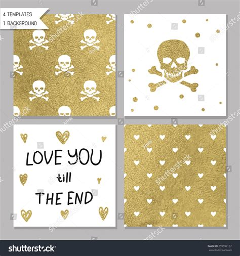 strumming pattern love you till the end collection of 4 card templates could use as seamless tile