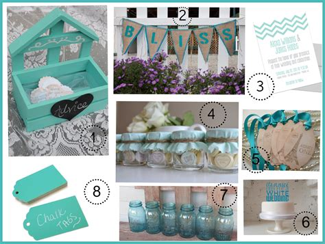 color theme ideas turquoise wedding color theme rustic wedding chic