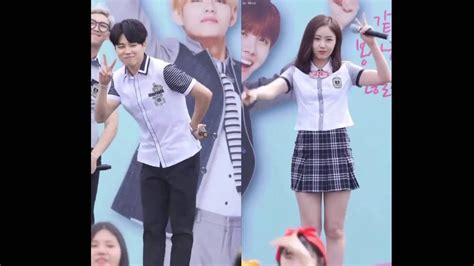 jimin bts school bts jimin x sinb gfriend wednesday dance youtube