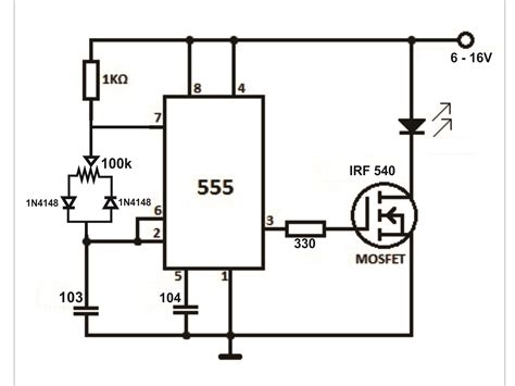 mosfet transistor high current help for pwm controlling mosfet for high current led electronics forum circuits projects and