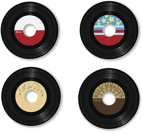 Free Records In Objects Vector Graphics