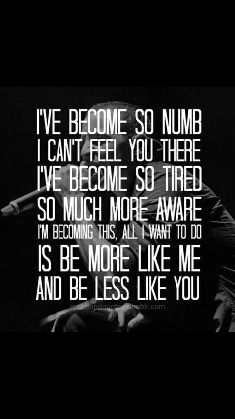 testo numb numb by linkin park one of my favorite songs by them