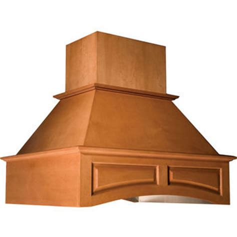 Oven National Omega range hoods island wooden range with arched valence by omega national kitchensource
