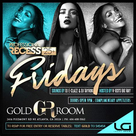 gold room atlanta dress code quot professional recess quot atlanta s favorite weekend kickoff each every friday at gold room with