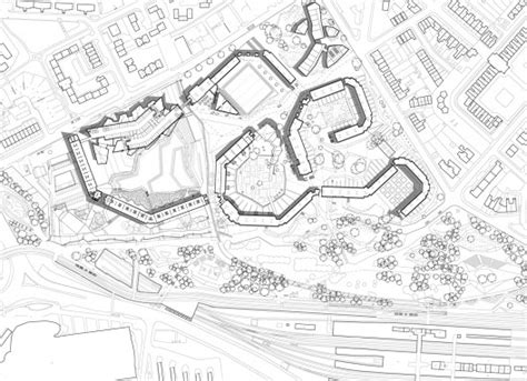site plan studio 0202 park hill hawkins brown with studio egret west archdaily