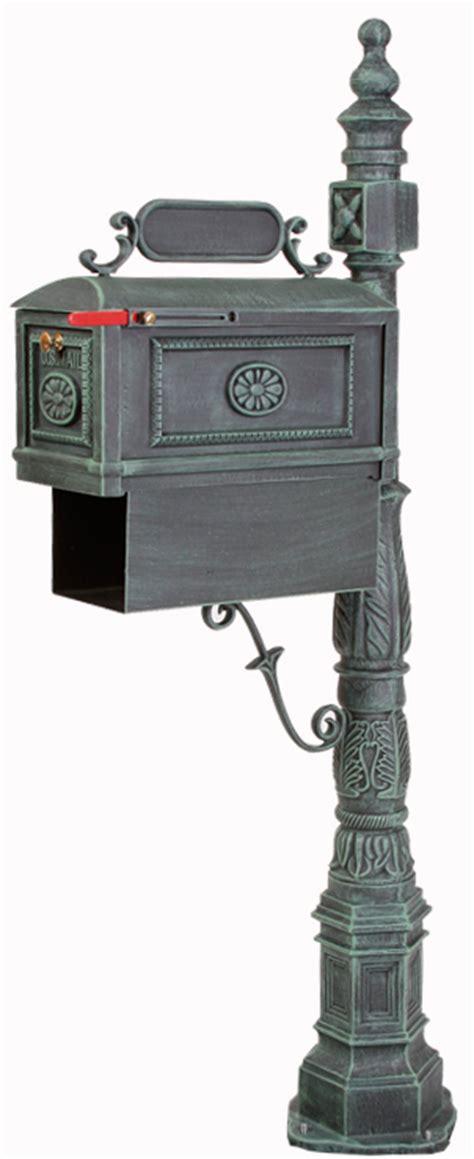 better mailboxes better box mailboxes decorative cast aluminum mailbox