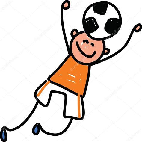 imagenes animadas jugando futbol ni 241 o dibujos animados jugando f 250 tbol archivo im 225 genes