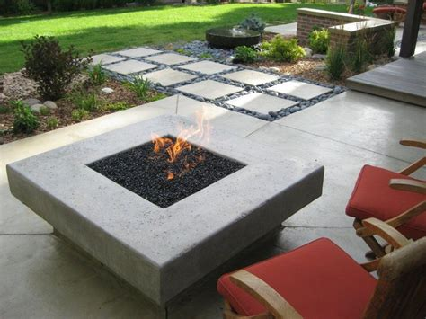 Small Outdoor Gas Pit Landscaping Ideas Small Yard Patio Firepit Back Yard