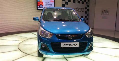 Maruti Suzuki Price In Delhi Maruti Suzuki Alto K10 Price In India Specs Features