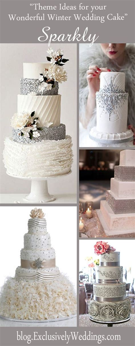 Best 20  Winter Wedding Cakes ideas on Pinterest