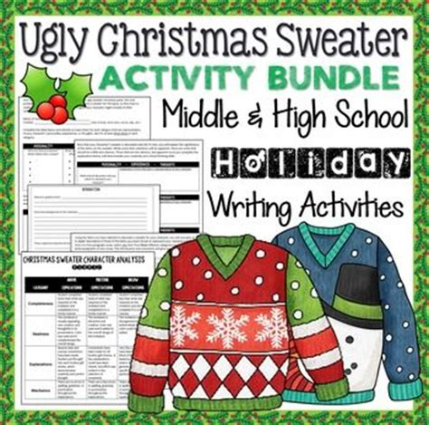 ugly christmas sweater poems 17 best images about winter lessons on writing skills poems about and