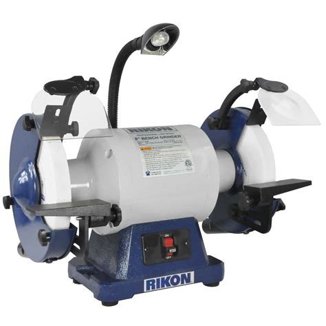 1hp bench grinder rikon 8in 1 hp bench grinder from buymbs com