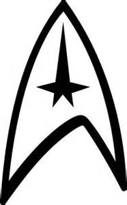 4 star trek logo vinyl decal