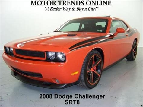how to fix cars 2008 dodge challenger navigation system find used srt 8 navigation sunroof auto hemi brembo htd seats 2008 dodge challenger 49k in alvin