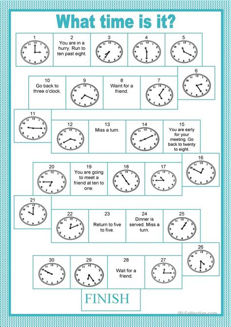 printable board games adults board game time worksheet free esl printable