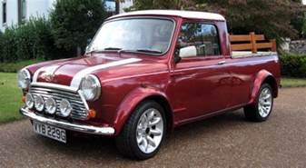 Mini Cooper Truck For Sale On The Road With Zoom 1969 Mini Cooper S Truck