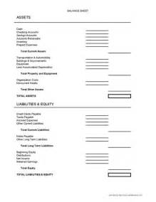 Printable Blank Balance Sheet Template by Best Photos Of Small Business Balance Sheet Form Small